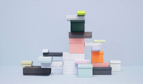 HAY denmark stationery boxes