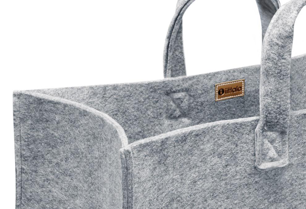 meno-home-bag-d400x500x250mm-grey-felt