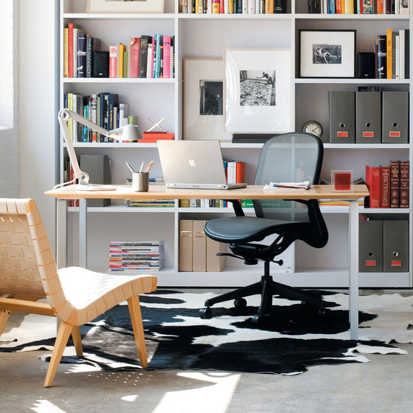 knoll-risom-lounge-chair-and-chadwick-desk-chair