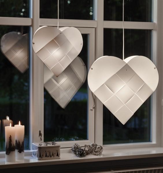 LE KLINT Hearts white