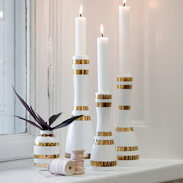 kahler-omaggio-candleholder-medium-gold-15346