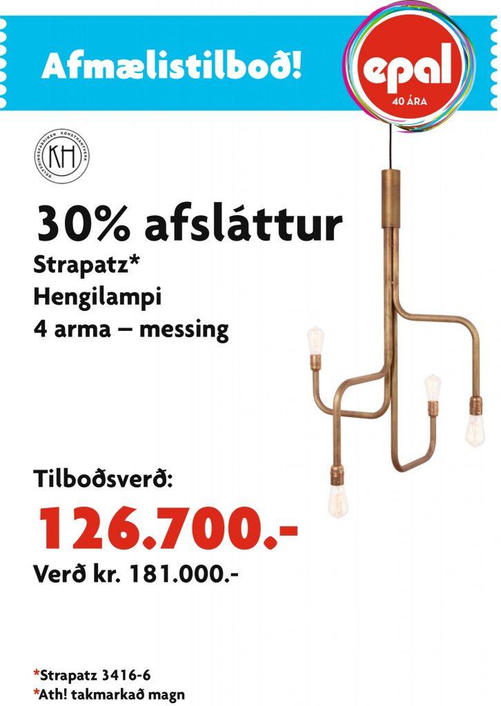 AfmTilboð Strapatz