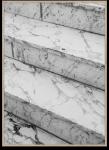 Plakat MARBLE STEPS 50x70