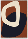 Plakat SOLID SHAPES 02 50x70