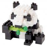 Kubbar NANOBLOCK Giant Panda 2