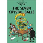 Tinnabók 13 THE SEVEN CRYSTAL BALLS soft