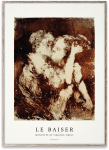 Plakat LE BAISER 30x40