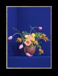 Plakat BLOMST 01/BLUE 30x40