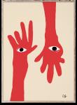 Plakat HAMSA HANDS 50x70
