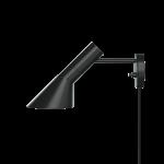 AJ Vegglampi 40W E14 svarturV2