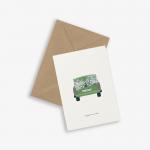 Kort WEDDING CAR - happily ever after